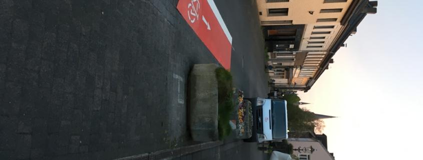 Peterstraße Willich Fahrrad frei