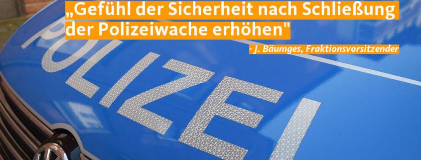 CDU Polizei Zitat